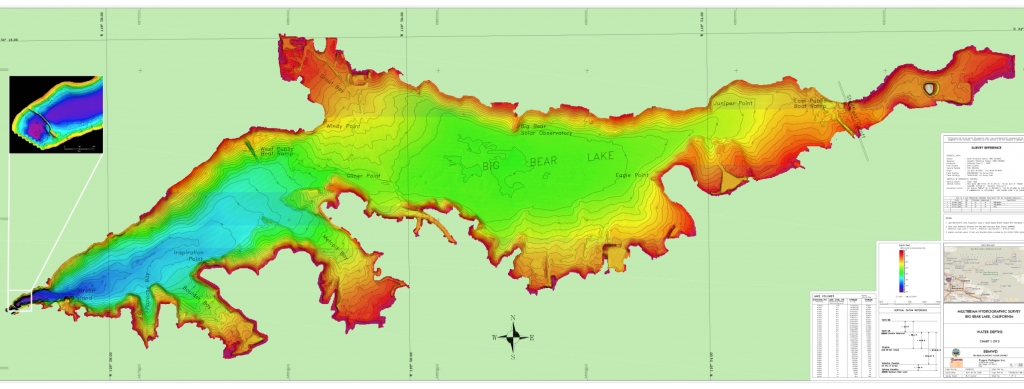 Bathymetry Chart (Lake Levels)